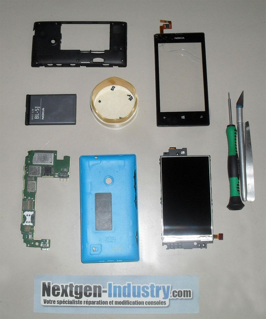 comment reparer nokia lumia 520